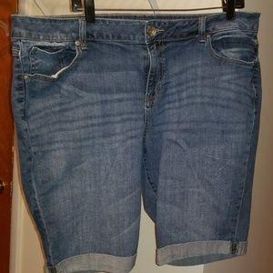 Jean shorts 20W